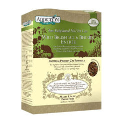 Addiction Grain-Free Wild Brushtail & Berries Entree Raw Dehydrated Cat Food