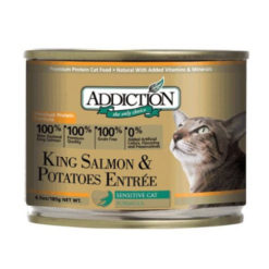 Addiction King Salmon & Potatoes Entree Canned Cat Food