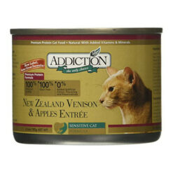 Addiction New Zealand Venison & Apples Entree Canned Cat Food