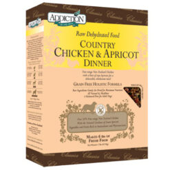 Addiction Raw Dehydrated Country Chicken & Apricot Dog Food