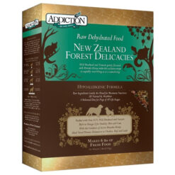 Addiction Raw Dehydrated Forest Delicacies Dog Food