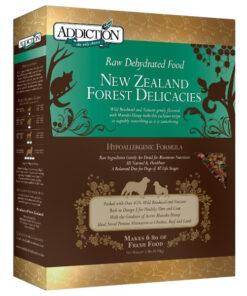 Addiction Raw Dehydrated Forest Delicacies Dog Food