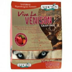 Addiction Grain Free Viva La Venison Formula Dry Dog Food