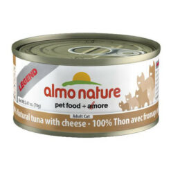 Almo Nature Legend 100% Natural Chicken with Cheese Canned Cat Food