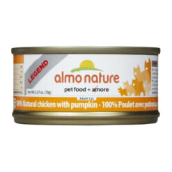 Almo Nature Legend 100% Natural Chicken with Pumpkin Canned Cat Food