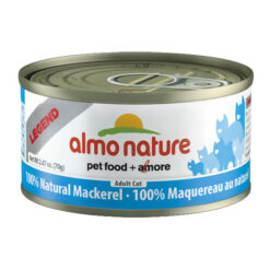 Almo Nature Legend 100% Natural Mackerel Canned Cat Food