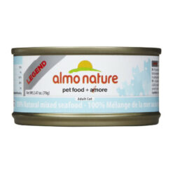 Almo Nature Legend 100% Natural Mixed Seafood Canned Cat Food