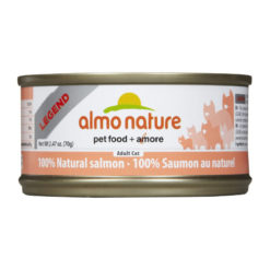 Almo Nature Legend 100% Natural Salmon Canned Cat Food