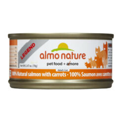 Almo Nature Legend 100% Natural Salmon with Carrots Canned Cat Food