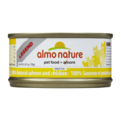 Almo Nature Legend 100% Natural Salmon and Chicken Canned Cat Food
