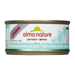 Almo Nature Legend 100% Natural Trout and Tuna Canned Cat Food