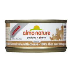Almo Nature Legend 100% Natural Tuna with Cheese Canned Cat Food