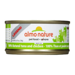 Almo Nature Legend 100% Natural Tuna and Chicken Canned Cat Food