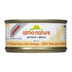 Almo Nature Legend 100% Natural Tuna with Shrimps Canned Cat Food
