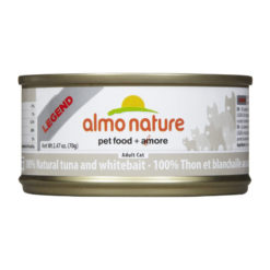 Almo Nature Legend 100% Natural Tuna and Whitebait Canned Cat Food