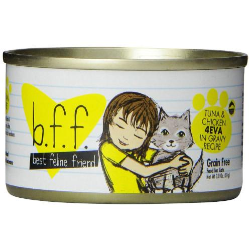 Best Feline Friend Tuna & Chicken 4EVA Canned Cat Food
