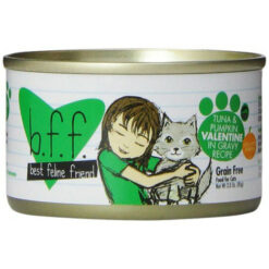 Best Feline Friend Tuna & Pumpkin Valentine Canned Cat Food