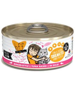 Best Feline Friend Tuna & Salmon Soulmates Dinner in Gelee Canned Cat Food