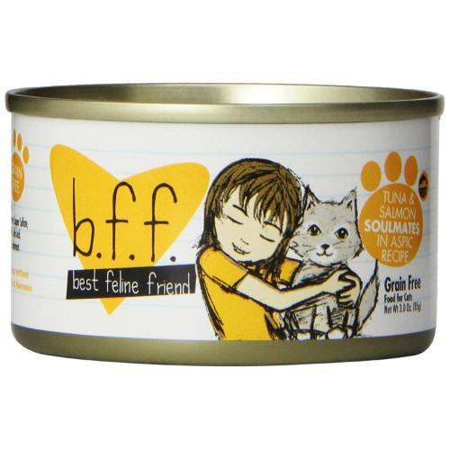 Best Feline Friend Tuna & Salmon Soulmates Canned Cat Food