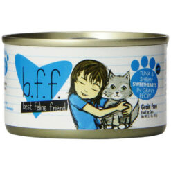 Best Feline Friend Tuna & Shrimp Sweethearts Canned Cat Food