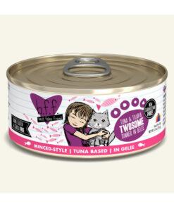 Best Feline Friend Tuna & Tilapia Twosome Dinner in Gelee Canned Cat Food