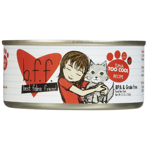 Best Feline Friend Tuna Too Cool Canned Cat Food