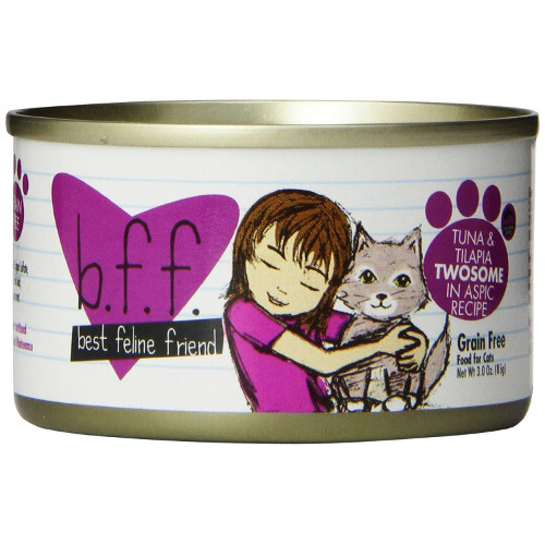 Best Feline Friend Tuna & Tilapia Twosome Cat Food