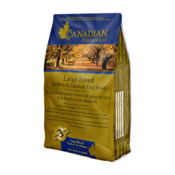 Canadian Naturals Large Breed Turkey & Saalmon Dry Dog Food