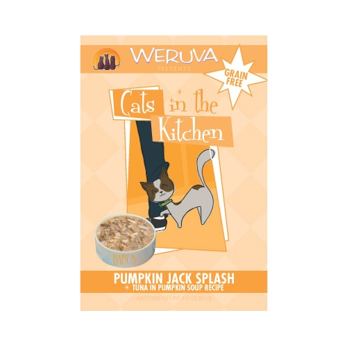 Weruva Cats In the Kitchen Pumpkin Jack Splash Pouches