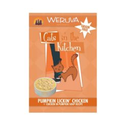 Weruva Cats In the Kitchen Pumpkin Lickin Chicken Pouches