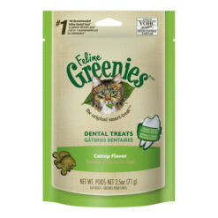 Greenies Feline Catnip Flavor Dental Cat Treats