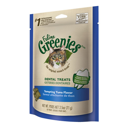 Greenies Feline Tuna Flavor Dental Cat Treats
