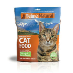 K9 Feline Natural Chicken & Lamb Feast Raw Freeze-Dried Cat Food