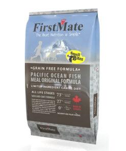 FirstMate Grain Free Pacific Ocean Fish Original Small Bites Dry Dog Food