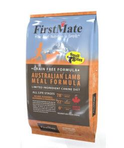 FirstMate Grain Free Australian Lamb Small Bites Dry Dog Food
