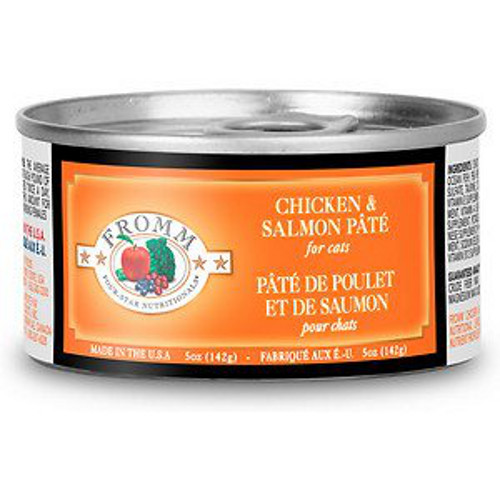 Fromm Four Star Chicken and Salmon Pate Canned Cat Food