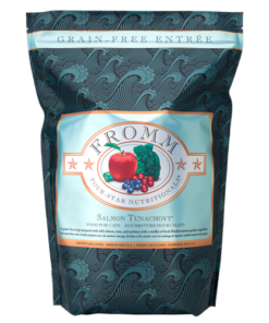 Fromm Four Star Grain Free Salmon Tunachovy Dry Cat Food
