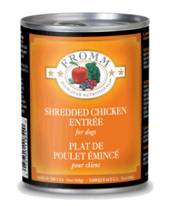 Fromm Four Star Shredded Chicken Entree Canned Dog Food