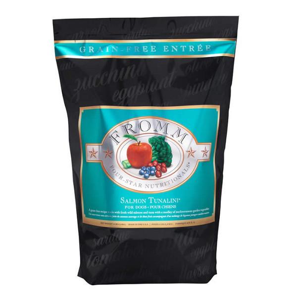Fromm Four Star Grain Free Salmon Tunalini Dry Dog Food