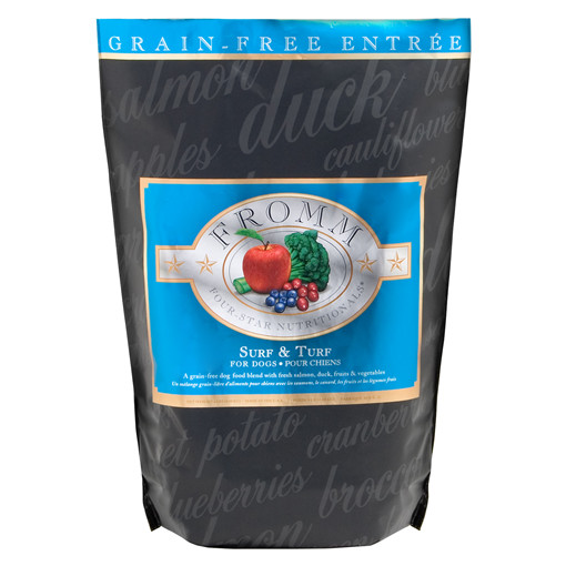 Fromm Four Star Grain Free Surf and Turf Dry Dog Food