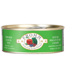Four Star Grain Free Chicken & Duck Pate Canned Cat Food
