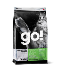 GO! SENSITIVITY + SHINE Grain Free Freshwater Trout and Salmon Recipe Dry Cat Food