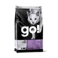 GO! FIT + FREE Grain Free Chicken, Turkey and Duck Recipe Dry Cat Food