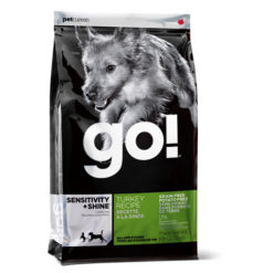 Go! SENSITIVITY + SHINE Grain Free Potato Free Turkey Dry Dog Food