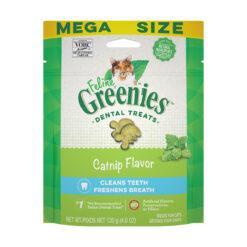 Greenies Feline Catnip Flavor Dental Cat Treats