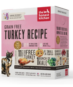 The Honest Kitchen Grace Turkey and Grain Free Dehydrated Cat Food