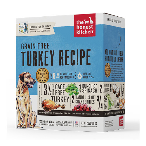 Honest Kitchen Embark: The Honest Kitchen Embark Turkey And Grain Free Dehydrated