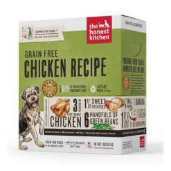 The Honest Kitchen Force Free Range Chicken and Grain Free Dehydrated Dog Foods
