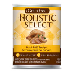 Holistic Select Duck Pate Recipe Grain-Free Canned Dog Food