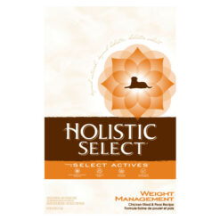 Holistic Select Weight Management Chicken Meal and Peas Formula Dry Dog Food